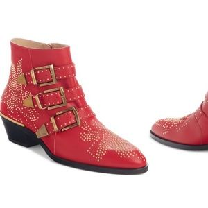 ISO! Red Chloë Boots